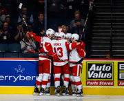 Notes: Griffins improvement mirrors that of Red Wings
