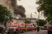 Fire marshals investigating blaze that injured 20 firefighters, displaced more than 24 people