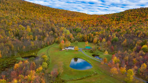 Address: 675 Ploutz Rd, Roxbury, NY 12474 Price: $1,670,000 Acreage: 443 acres Size: 3,533 square feet Built: 1837 Monthly Mortgage: $7,050 (based on this week's national average rate of 4.85 percent, according to Freddie Mac, for a 30-year fixed-rate mortgage with a 20 percent down payment. Fees and points not included.)