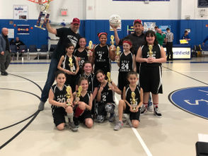 """They are calling Angelina Guastamacchia """"Angie Ice"""" these days at Holy Family parish, and it's quite understandable. With the Holy Family Cardinals trailing 14-13 with 46.9 seconds left in the girls' 4th-grade B Island title game against Holy Rosary two weeks ago at St. Joseph Hill Academy, Guastamacchia sank two free throws, giving her team a 15-14 triumph. But the game wasn't decided until three seconds remaining when Holy Family's Olivia Farinacci dribbled the ball down the sideline and ran out the clock, bringing the crowd to its feet. Sophia Ogofa scored eight points, Guastamacchia finished with four and Gabby Peragine added three. The Cardinals, coached by Cory Goodman and Lou Guastamacchia, advanced to the title game by topping unbeaten and No. 1 seed St. Patrick's the week prior. """"Their athleticism, sportsmanship and team play was the difference,"""" said Coach Goodman of the season and the title game. """"Their dynamic defense and hard-to-match offense set these girls up for a win to remember!"""" Rounding out the championship team are Emma Chiusano, Gabriella Wetherby, Julianna Allegretti, Brya Sweeney, Danielle Mallen and Emily Goodman."""