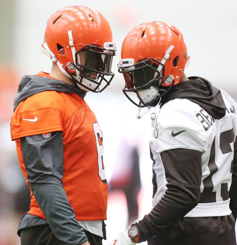 Is Odell Beckham Jr.'s hip injury much of a concern for the Browns? Hey, Mary Kay!