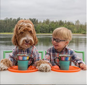 Oregon boy and lovable labradoodle star in uplifting book about adoption