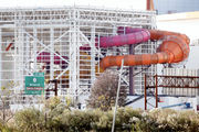 Waterslides are being installed at the American Dream mega-mall and it is glorious