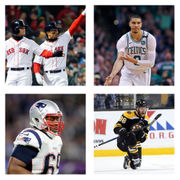 Boston's golden age's next wave, the best Celtics, Patriots, Red Sox and Bruins, 25-and-under