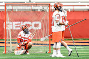 Navy faceoff man Joe Varello beats Syracuse, younger brother, with last-second goal