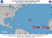 2 tropical cyclones expected to form Friday in Atlantic