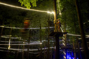 Frankenmuth Aerial Park hosts Glow Night