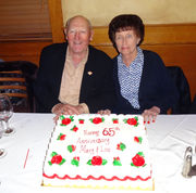 Mary & Louis Buttermark are married 65 years