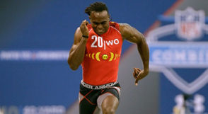 5. Julio Jones, Foley High, Alabama: 4.34 seconds After Jones' run at the 2011 combine, the Falcons traded five draft picks to the Browns for the No. 6 choice to draft the wide receiver. He's gone on to be an All-Pro twice and a Pro Bowler six times. Jones has caught 698 passes for 10,731 yards and 51 touchdowns in eight NFL seasons.