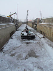 See the Soo Locks drained of 73 million gallons of water