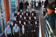 Ewing swears in over a dozen new career firefighters (PHOTOS)