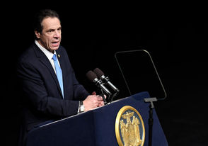 Albany, N.Y. - Gov. Andrew Cuomo pushed for stricter gun laws during his budget address on Tuesday and with the Legislature now fully in Democratic hands, there's a chance at least some of his proposals will pass. The governor is aiming for three new laws.
