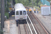 NYPD: Man, 29, laid down on tracks before fatal train strike; suicide suspected