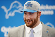 Everybody's excited about Lions rookie Frank Ragnow