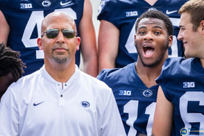 Scenes from the Penn State football photo day held at Beaver Stadium.