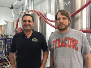 New brewery and tap room to open on Palladino Farms in the hills south of Syracuse.