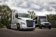 Daimler to launch 2 new electric semi-trucks with production goal of 2021