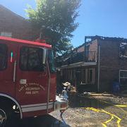 5-alarm fire destroys Destrehan townhouses, displacing 4 families