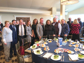 """STATEN ISLAND, N.Y. -- Richmond County Country Club, Todt Hill, was the setting Friday for the 2018 Staten Island Chamber of Commerce Building Awards luncheon, attended by more than 250 guests. Staten Island's best new and renovated residential and commercial properties were recognized, as well as the St. George Theatre, which was bestowed with the Albert P. Melniker Award, given annually to a special person, group or structure that enhances the quality of life on Staten Island. The St. George Theatre, which boasts a brand-new, state of the art marquee, was applauded for """"adding to the vibrancy of the downtown Staten Island neighborhood."""" So, who are the winners? Scroll down for scenes from the event alongside a list of winners, and then a look at some of the top properties snagging awards this year."""