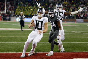 Photos from the Oregon Ducks vs. Washington Cougars Pac-12 football game on Saturday, Oct. 20, 2018.