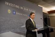 Work begins on new $65 million General Motors facility in Burton