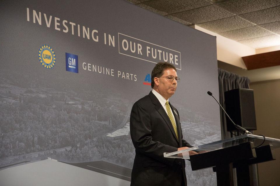 General Motors celebrates processing facility groundbreaking