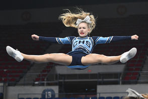 The Oregon high school cheerleading championships took place Saturday at Veterans Memorial Coliseum in Portland, with Westview (6A), South Albany (5A), Newport (4A), Santiam Christian (3A/2A/1A), Thurston (coed large) and David Douglas (coed small) claiming state titles. Here's a look at some of the most memorable images from the day through the photography of Leon Neuschwander, plus links to galleries with more photos of every team that competed.