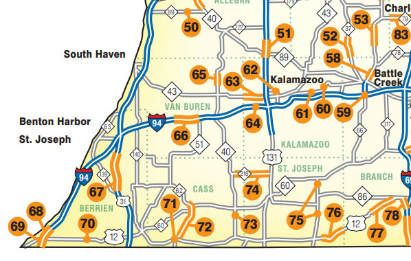 See 2018 Road Construction Planned For Kalamazoo Area And Sw
