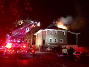 Springfield fire in historic house displaces 5