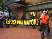 In response to chaotic street brawls, Portland may restrict protests