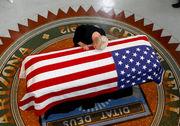 John McCain lies in state at Arizona Capitol (photos)