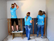 Women Build Week helps make home possible for single mom, six children