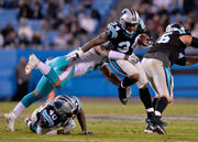Time to see what Cameron Artis-Payne is capable of, Carolina Panthers coach says