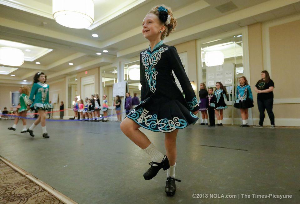 Irish dance competiton in Kenner