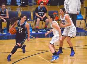 KALAMAZOO, MI - The season's first set of Friday night girls basketball put some of the Kalamazoo-area's top players and teams on center stage, and several of them basked in the spotlight. Headlining the group was Comstock senior Daisy Ansel, who scored a school record 45 points in her teams' 69-24 win over Buchanan, breaking a 27-year old record of 41 points, which was held by Stacy Stanton. Stanton, who became Stacy Crawford after marrying Comstock basketball standout Chris Crawford, went on to become a volleyball star at Indiana State and even earned an Olympic team tryout, so it's clear Ansel is joining elite company with the scoring milestone.  The 5-foo-10 guard and future GVSU Laker tied her own school record with seven 3-pointers, while adding 13 rebounds and five steals. Teammate Abby House added 16 points, eight assists and seven rebounds for the Colts, who moved to 2-0 on the year.  But that wasn't the only primetime performance on Friday. Follow along for more scores and highlights from boys and girls high school basketball from around Kalamazoo. RELATED: CMU commit's 38 points headline Tuesday's Kalamazoo-area hoops action RELATED: Michigan high school boys and girls basketball scores from Friday