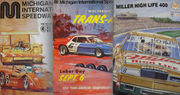 50 vintage programs from 50 years of racing at Michigan International Speedway