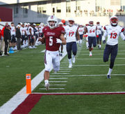 UMass football storms back to defeat Liberty in triple OT, 62-59