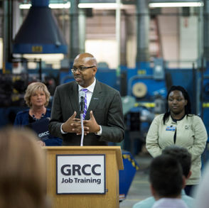Grand Rapids Community College release study about economic impact of noncredit workforce programs.