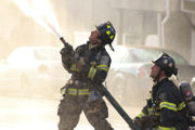 2 hurt, 12 displaced in early morning fire (PHOTOS)