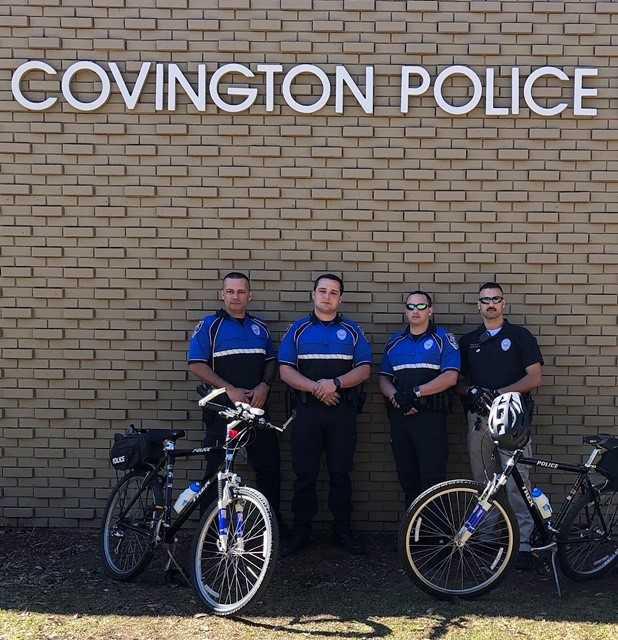 Covington Police bike patrols