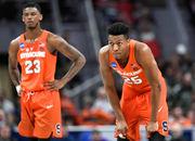 Syracuse basketball box score vs. TCU (NCAA Tournament)