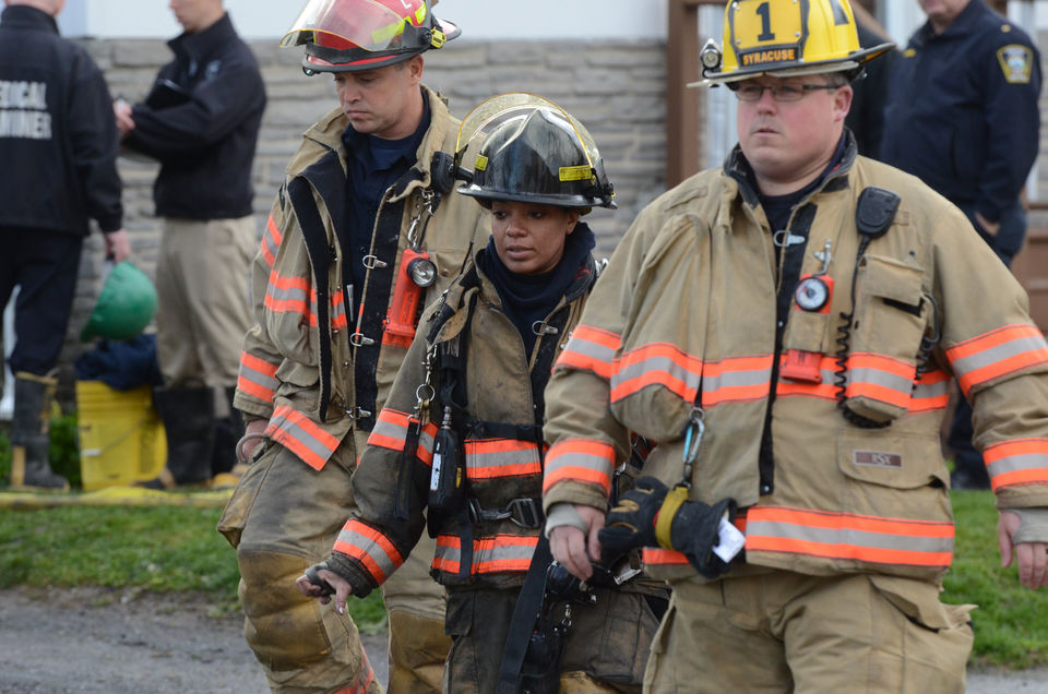 Which Upstate NY cities and towns pay firefighters the most