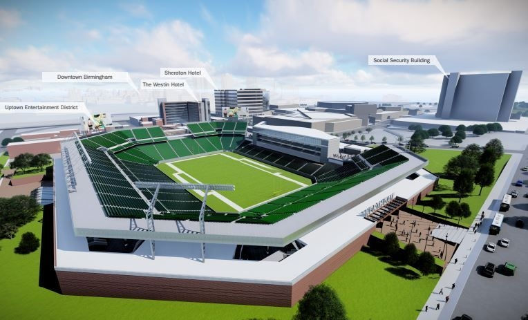 The Birmingham-Jefferson Convention Complex released its updated 20-year master plan in 2016.