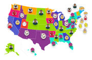Most popular PBS kids shows in the U.S., mapped