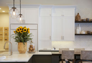 Of 1,300 people questioned, 66 percent of those who continue to live in their house during a kitchen remodel said they are less likely to experience extreme stress than those who stay with family or friends, take a vacation or check into a hotel throughout construction, according to the 2019 U.S. Houzz Kitchen Trends Study. [The Elysian, built by Red Hills Construction with Wendy O'€™Brien Interior Planning & Design, was part of the 2017 Street of Dreams in Happy Valley.]