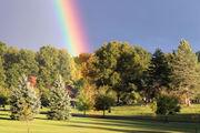 Rainbows strike like lightning near Cuyahoga Valley National Park