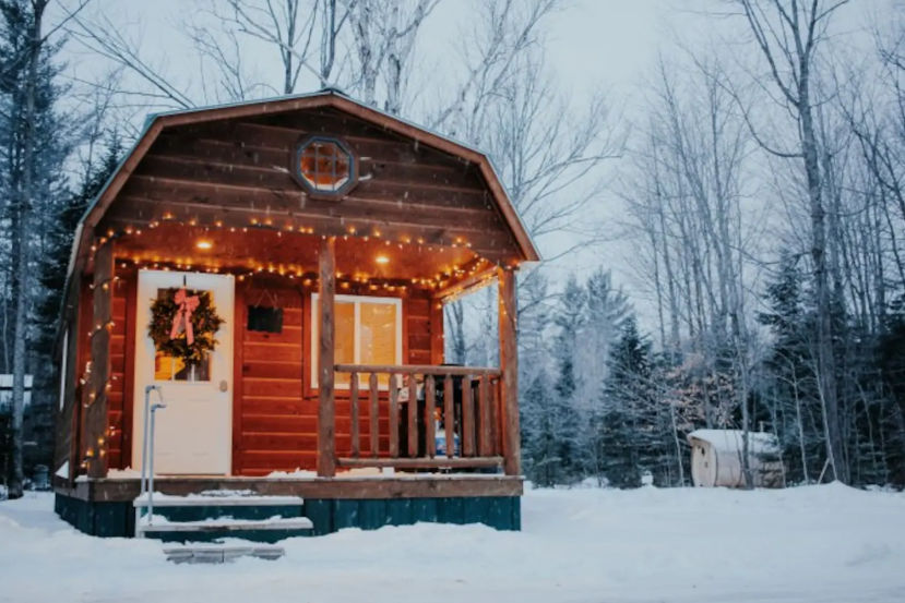 29 cozy Michigan cabins to rent for a winter getaway | MLive com