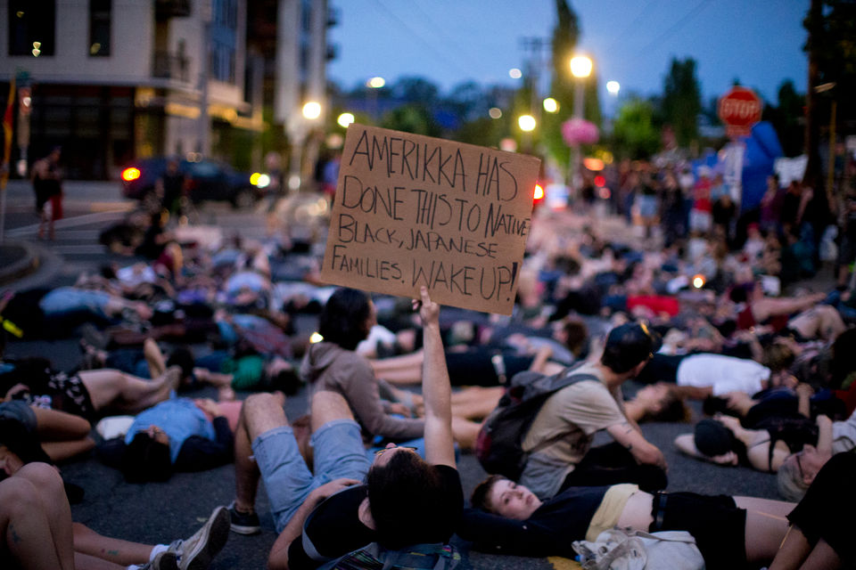 Feds order Occupy ICE PDX protesters to abandon camp on their property or face arrest | OregonLive.com
