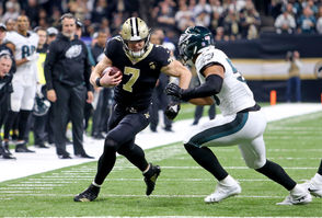 Hill, whom Payton jokingly said runs like Fred Flintstone, has been the jack of all trades for the Saints this season. He came very close to hauling in a deep touchdown pass against the Eagles, so expect the Saints to seek ways to let Hill make a big contribution.