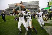 Michigan's win at Michigan State highest-rated college football game of afternoon